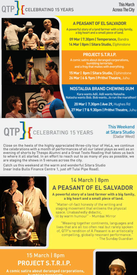 QTP Celebrating 15 Years